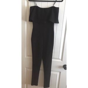 forever 21 black jumpsuit